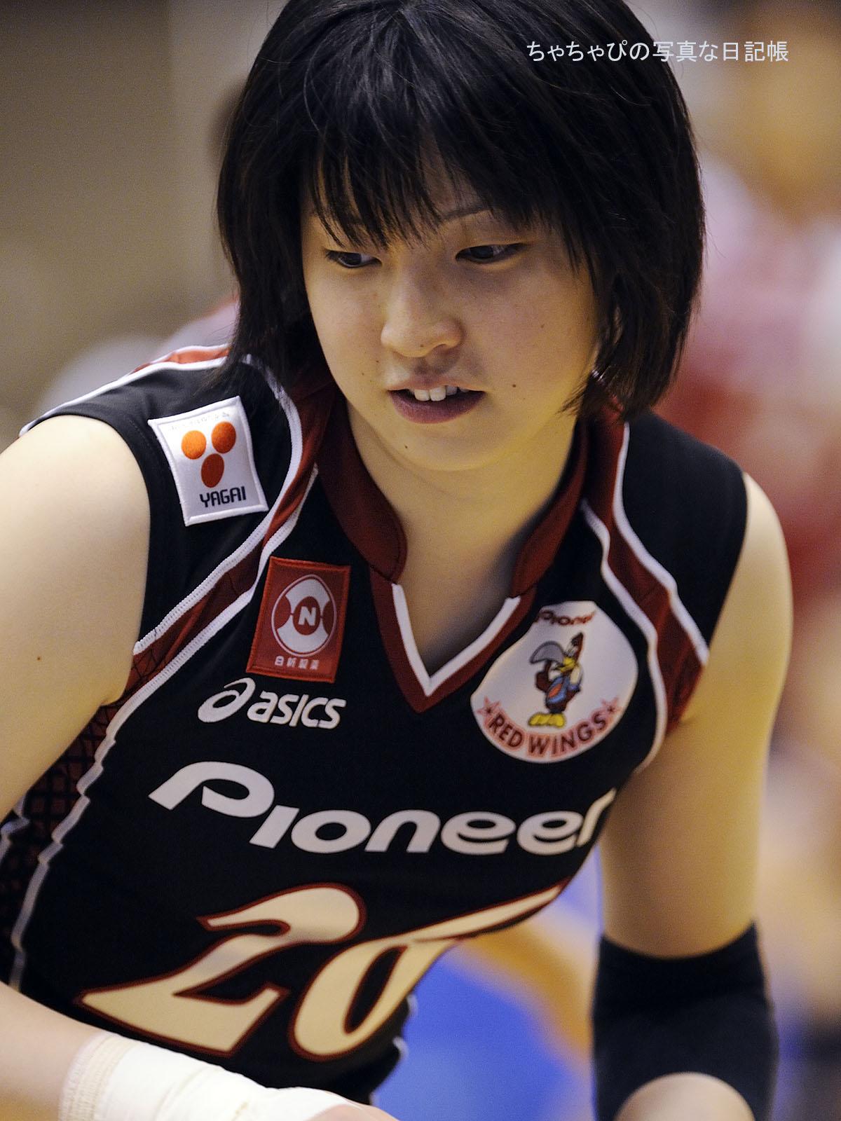 パイオニアレッドウィングス 田村翔子選手
