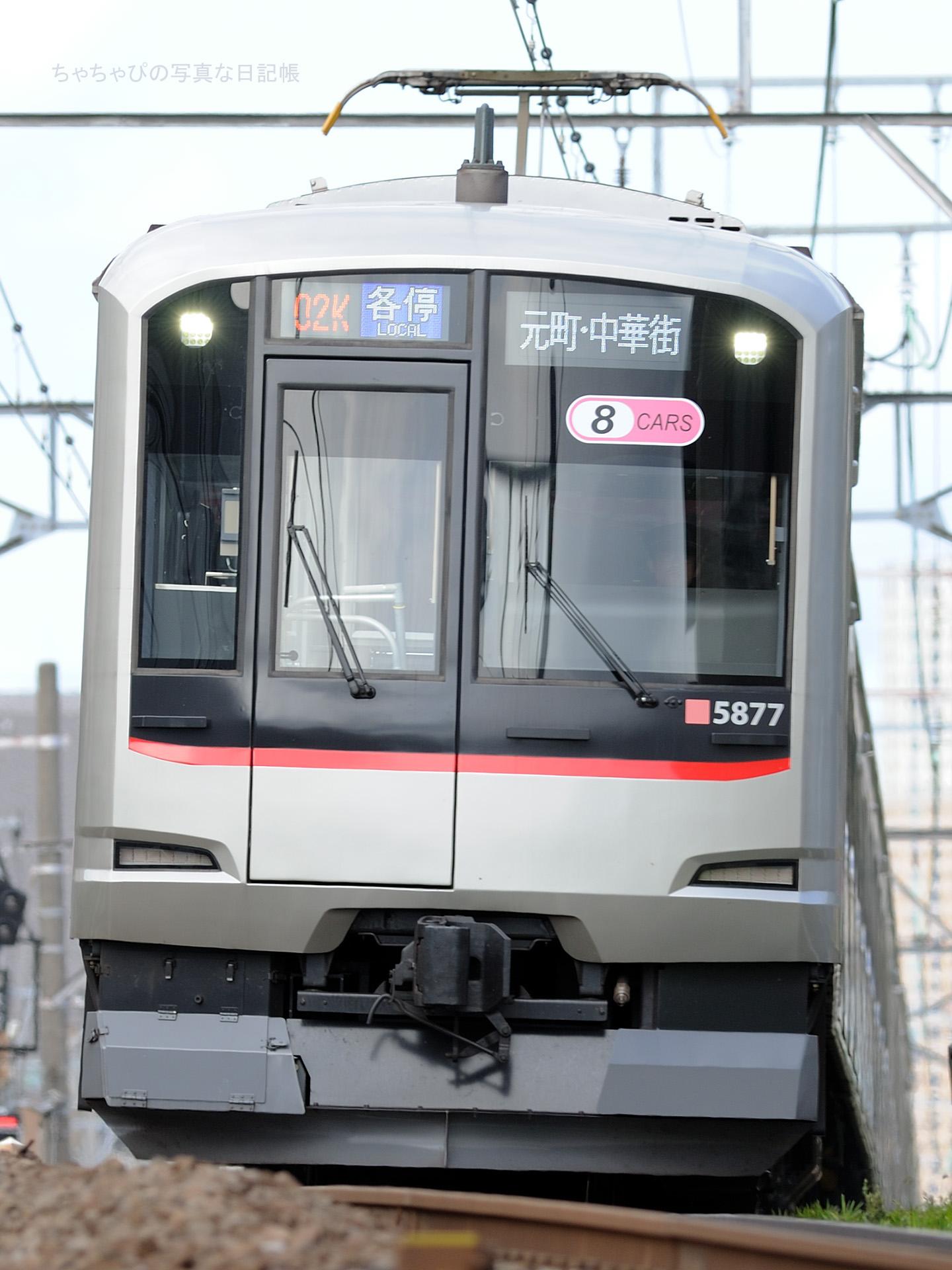 東急東横線 都立大学駅~自由が丘駅 5050系 -02ゥ 5177F-